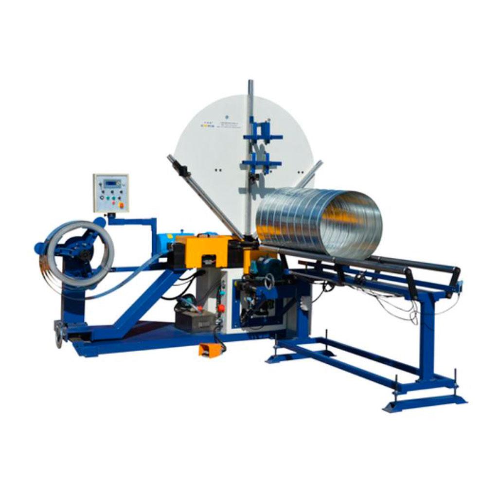 Maquinas para fabricación de ductos 3