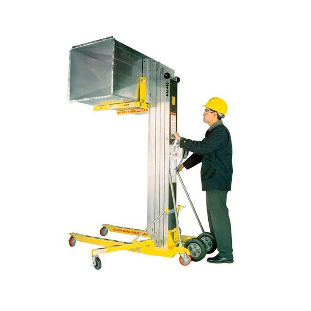 Máquinas para facilitar el montaje de ductos 1