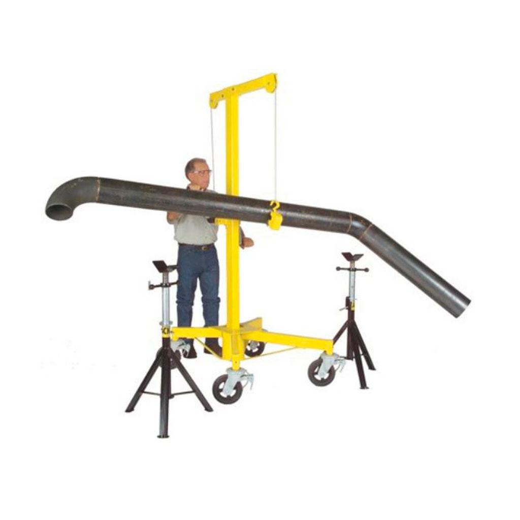 Máquinas para facilitar el montaje de ductos 2